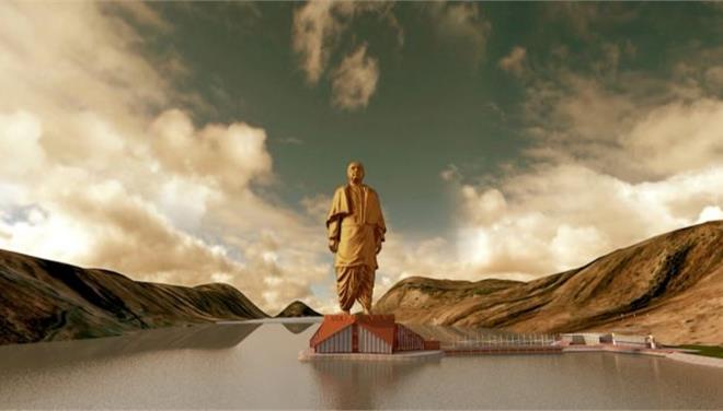 perierga.gr - Ξεκίνησε η κατασκευή του υψηλότερου αγάλματος στον κόσμο!