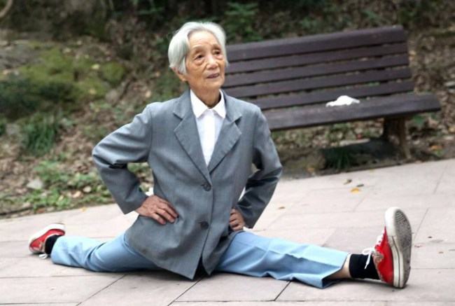 perierga.gr - 86χρονη άσος στο… σπαγκάτο!