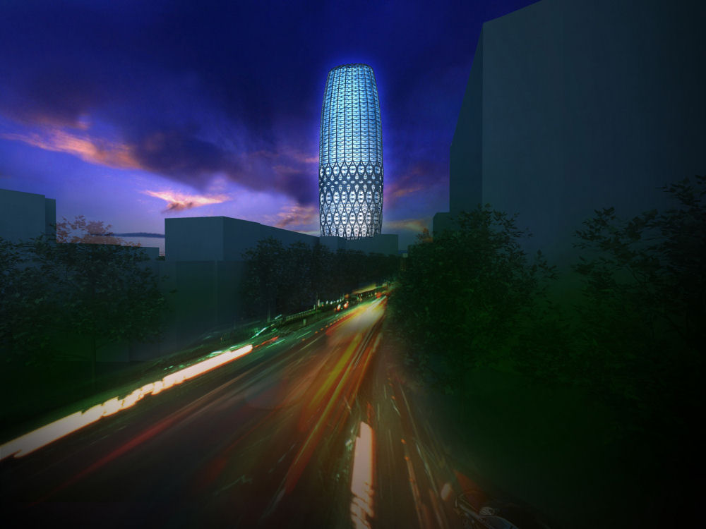 perierga.gr - O «διάφανος» πύργος της Ρουμανίας