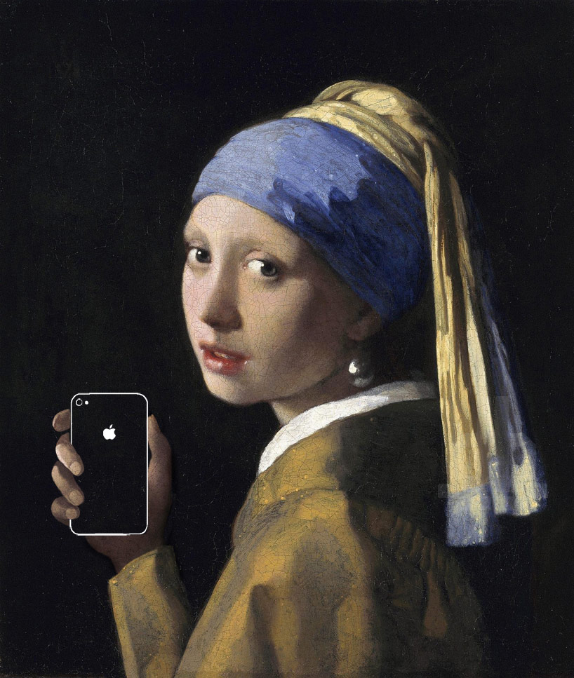 perierga.gr - Διάσημα έργα Τέχνης… προσαρμόζονται στις νέες τεχνολογίες!