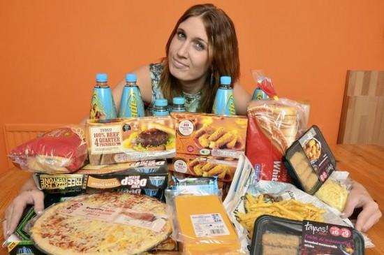 perierga.gr - 26χρονη τρώει μόνο junk food εδώ και 16 χρόνια!