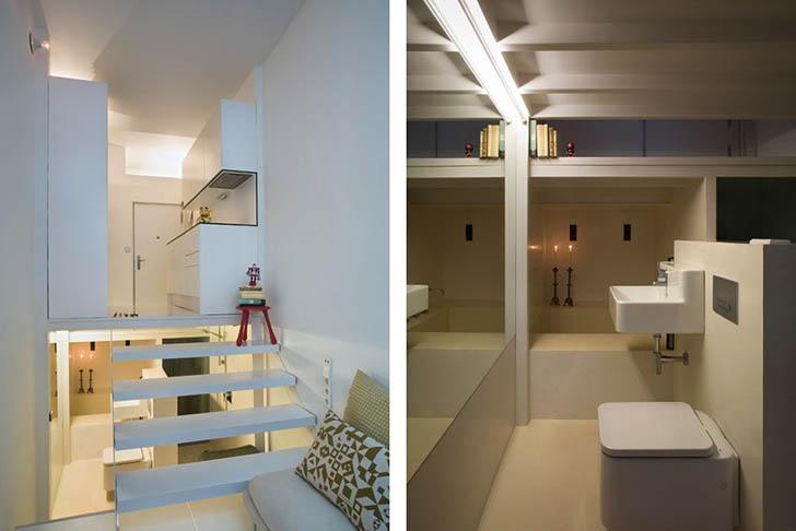 perierga.gr - Ένα πλήρες διαμέρισμα 20 τετραγωνικών!