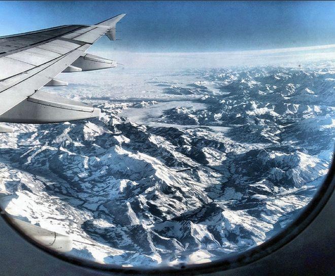 Perierga.gr - Η καλύτερη θέα από το παράθυρο του αεροπλάνου