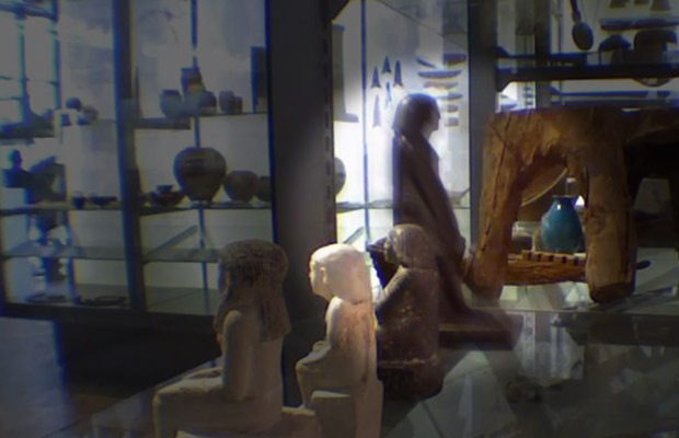 perierga.gr - Λύθηκε το μυστήριο του περιστρεφόμενου αιγυπτιακού αγάλματος!