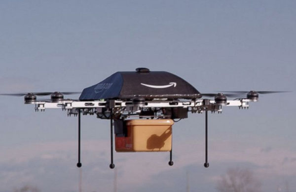 Perierga.gr - Με αεροπλανάκια-ρομπότ θα παραδίδει πακέτα η Amazon