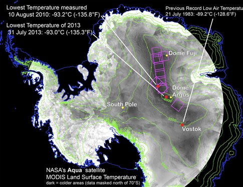 Perierga.gr - Το πιο κρύο σημείο στη Γη έχει -93,2 βαθμούς Κελσίου