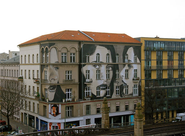 perierga.gr - Τέχνη του δρόμου σε 3 ορόφους!