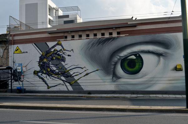 Perierga.gr - Τα καλύτερα γκράφιτι της Αθήνας!