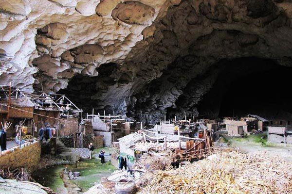 perierga.gr - Ιδιαίτερο χωριό μέσα σε σπηλιά!