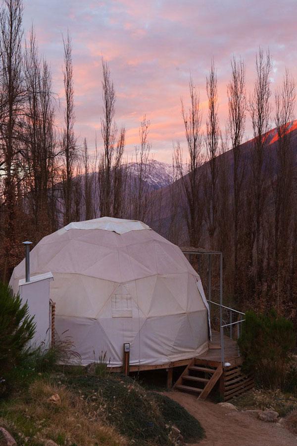 """perierga.gr - """"Elqui Domos"""": Ξενοδοχείο... αστρονομικό παρατηρητήριο!"""