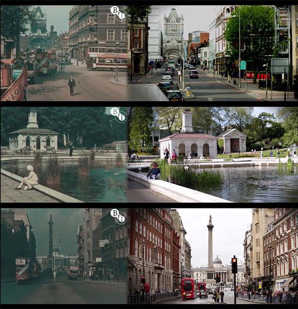 perierga.gr - Το Λονδίνο το 1927 και το 2013!