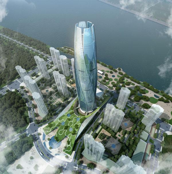perierga.gr - Εντυπωσιακός ουρανοξύστης θυμίζει... μπουμπούκι!