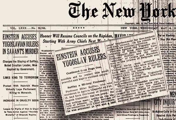 perierga.gr - Λάθος στο πρωτοσέλιδο των NY Times έμεινε αδιόρθωτο για 101 χρόνια!