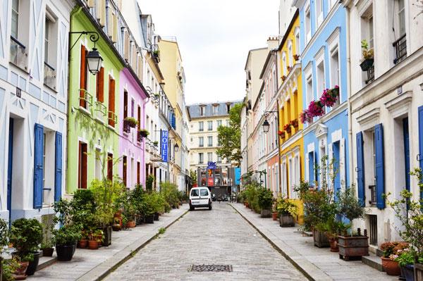 "perierga.gr - Rue Crémieux: Ο ""πολύχρωμος"" δρόμος του Παρισιού!"