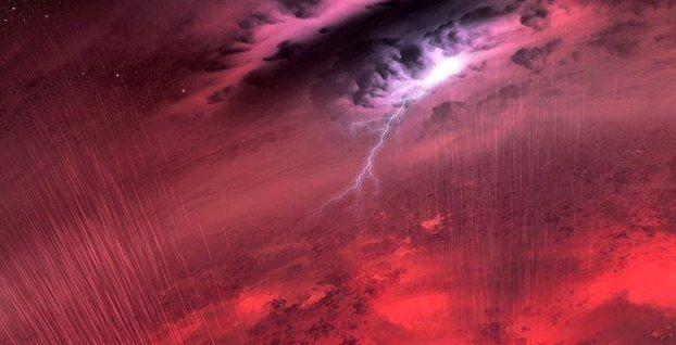 Perierga.gr - Φοβερές καταιγίδες μαίνονται σε καφέ νάνους