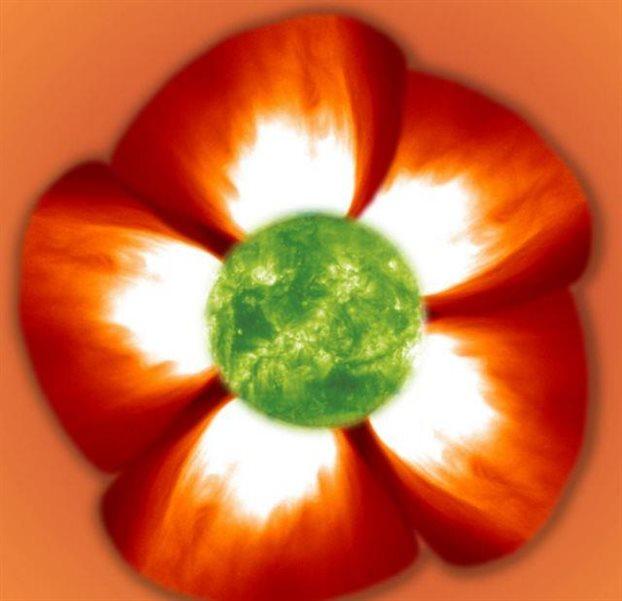 perierga.gr - Όταν ο Ήλιος μοιάζει με... λουλούδι!