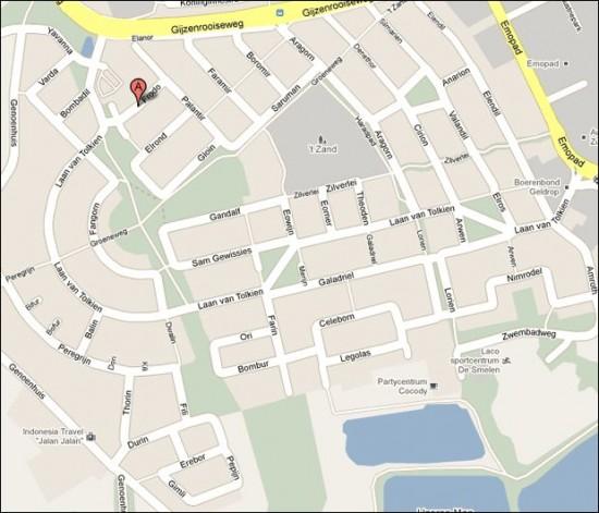 "perierga.gr - Πόλη ονόμασε τους δρόμους της από ήρωες του ""Άρχοντα των Δαχτυλιδιών""!"