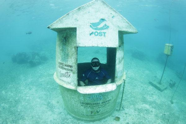perierga.gr - Υποβρύχιο… ταχυδρομείο στον Ειρηνικό Ωκεανό!