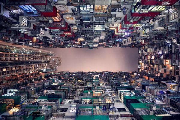 perierga.gr - Οι κάθετοι ορίζοντες του Χονγκ Κονγκ!