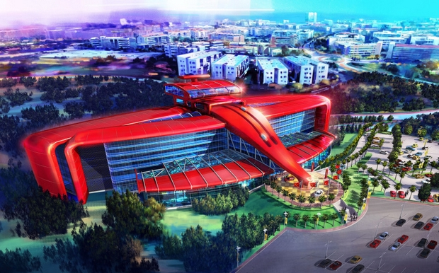 Perierga.gr - Eντυπωσιακό θεματικό πάρκο ετοιμάζει η Ferrari