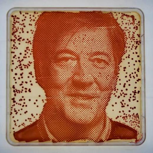 perierga.gr - Πορτρέτα φτιαγμένα από βακτήρια!