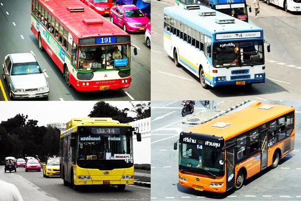 perierga.gr - Τα πολύχρωμα ταξί της Μπανγκόκ!