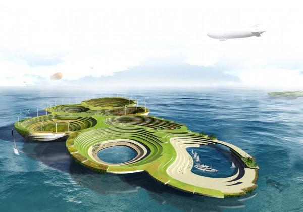 "perierga.gr - Πλωτή πόλη λειτουργεί ως σύγχρονη ""Κιβωτός του Νώε""!"