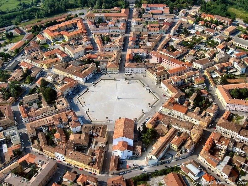 perierga.gr - Palmanova: Πόλη σε σχήμα... αστεριού!