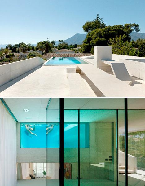 perierga.gr - Bίλα με αιωρούμενη πισίνα!