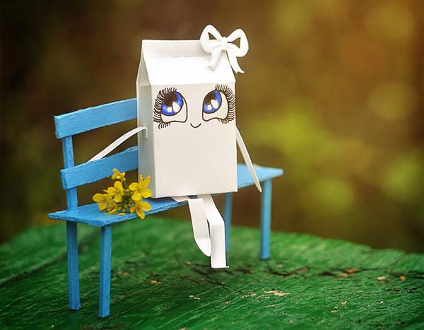 perierga.gr - Ζωντανεύοντας τα χάρτινα κουτιά του γάλακτος!