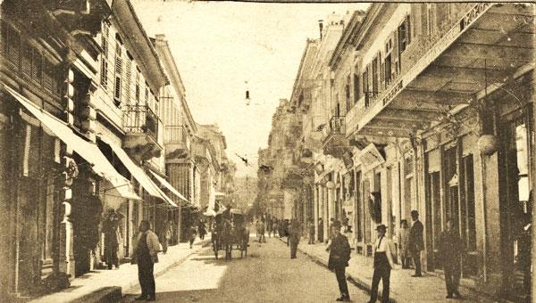 perierga.gr - Αθηναϊκοί δρόμοι πολλά χρόνια πριν!