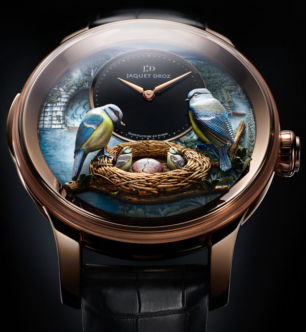 perierga.gr - Πανέμορφο ρολόι αναπαριστά τη σίτιση των νεοσσών!