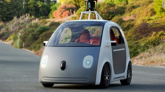 perierga.gr - Όχημα χωρίς οδηγό, τιμόνι και φρένα από τη Google!