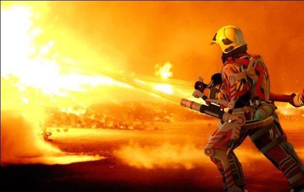 perierga.gr - Έρχονται οι σούπερ-πυροσβέστες!