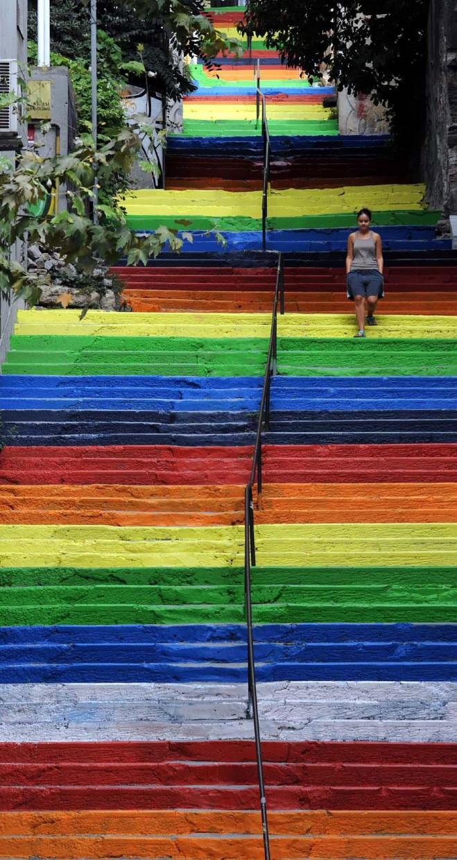 perierga.gr - 17 ζωγραφισμένες σκάλες... χάρμα οφθαλμών!