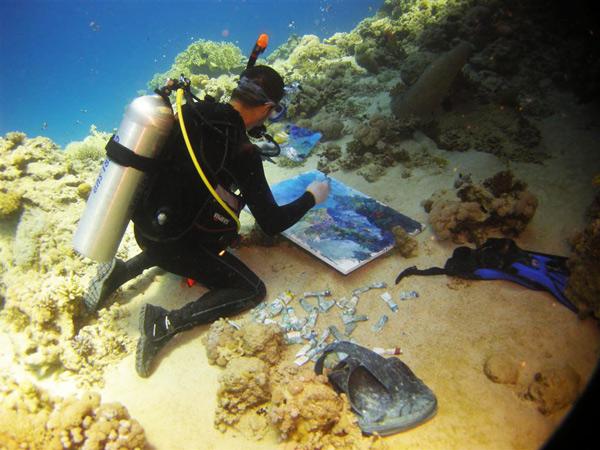 perierga.gr - 10 παράξενες δραστηριότητες κάτω από το νερό!