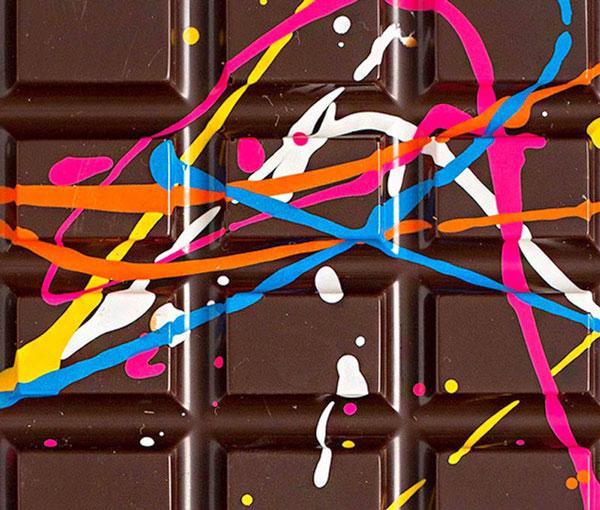 perierga.gr - Ζωγραφισμένη σοκολάτα κάνει θραύση με τη γεύση της!