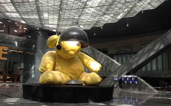 Perierga.gr - Εντυπωσιακά έργα τέχνης σε αεροδρόμια