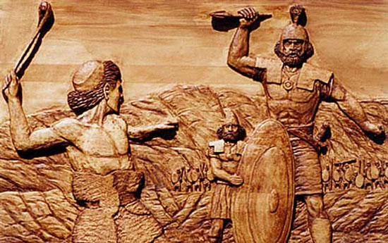 Perierga.gr - Ο Γολιάθ ήταν θύμα του Δαβίδ: Ανατροπή για τη διασημότερη βιβλική ιστορία!