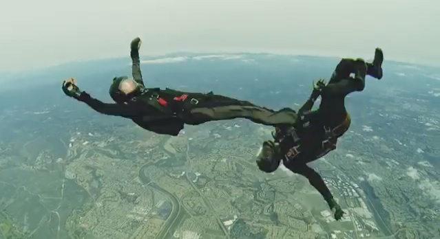 perierga.gr - Πολεμικές Τέχνες στον αέρα!