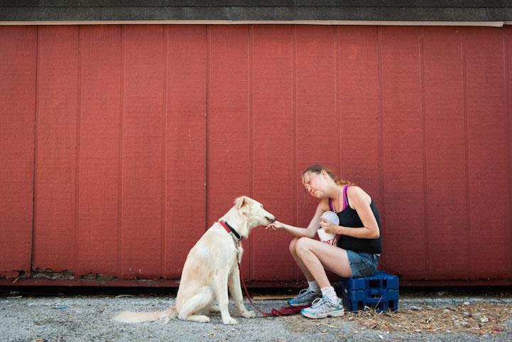 perierga.gr - Τα σκυλιά αφοσιώνονται στα αφεντικά τους ακόμα και στις δυσκολίες!
