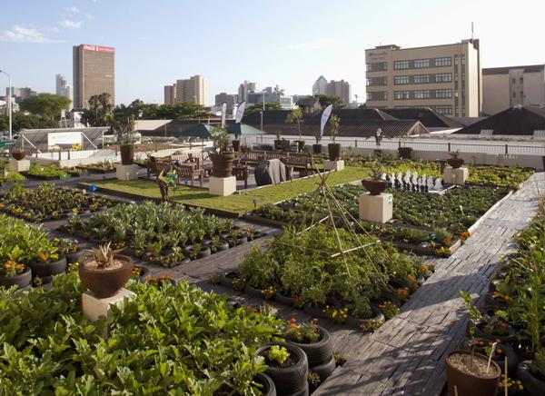 perierga.gr - Απίθανοι κήποι στις ταράτσες!
