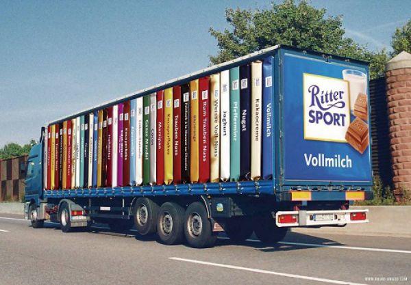 Perierga.gr - Εντυπωσιακές διαφημίσεις σε φορτηγά