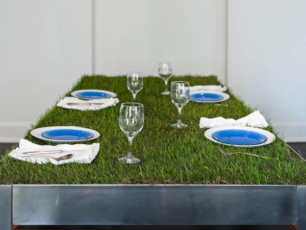 perierga.gr - Τραπέζι για πικνίκ φέρνει τη φύση στο… πιάτο!