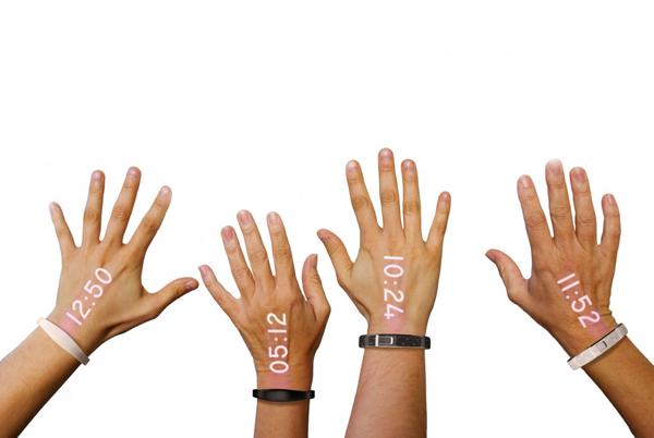 """perierga.gr - """"Έξυπνο"""" ρολόι μετατρέπει την παλάμη σε οθόνη!"""