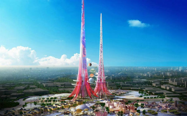 Perierga.gr - Οι ψηλότεροι δίδυμοι πύργοι