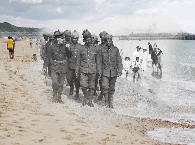 perierga.gr - Α΄ Παγκόσμιος Πόλεμος: Τότε και σήμερα στα ίδια σημεία!