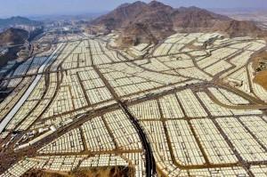 """Μια """"πόλη"""" 3 εκατομμυρίων μόνο με σκηνές"""