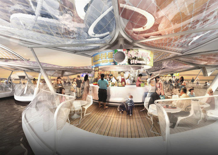 perierga.gr - Πλωτά εστιατόρια στο λιμάνι της Σιγκαπούρης!