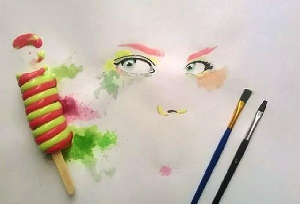 perierga.gr - Πίνακες ζωγραφικής με… παγωτό!